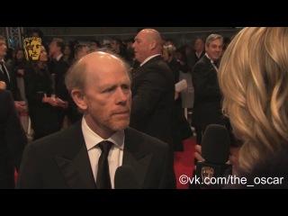 Рон Ховард на красной дорожке (BAFTA 2014)